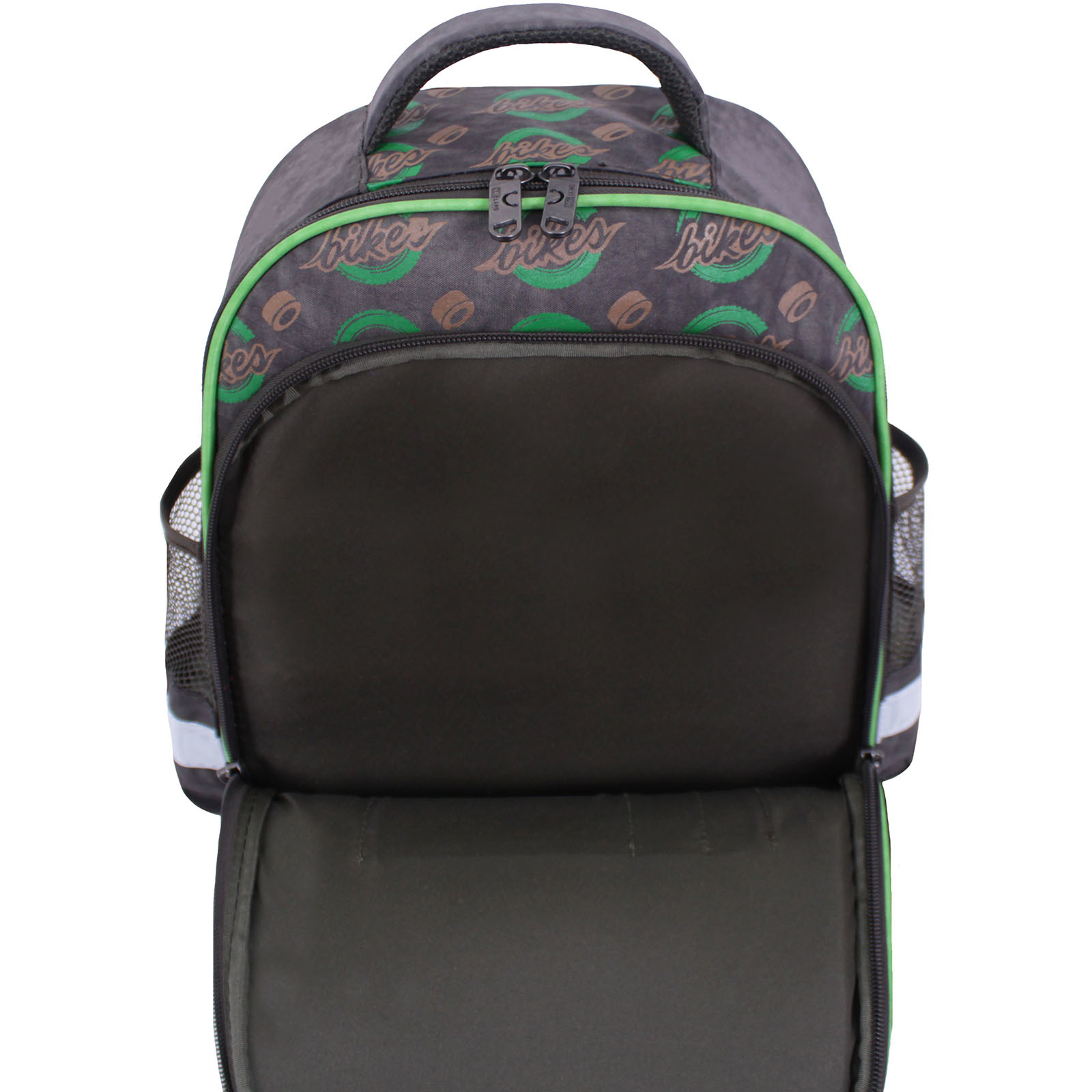 Рюкзак школьный Bagland Mouse 327 хаки 270к (0051370) фото 5
