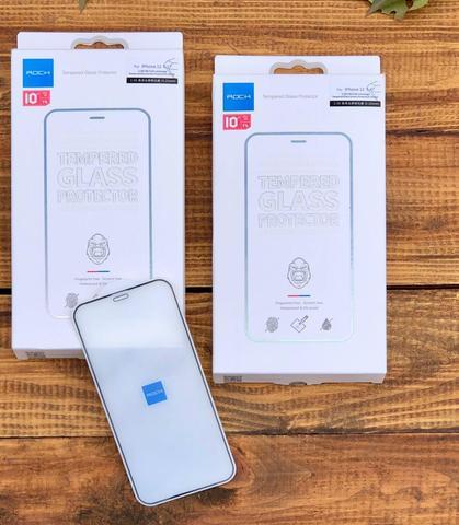 Стекло защитное Rock (0.25mm) iPhone 12 (6.1) Full-Coverage Tempered Glass