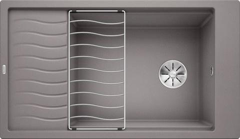 Кухонная мойка Blanco ELON XL 8 S, алюметаллик