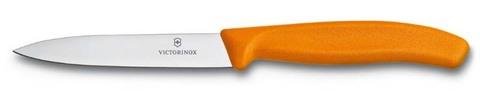 Нож для овощей SwissClassic 10 см оранжевый VICTORINOX 6.7706.L119