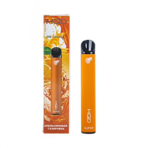 Одноразовая электронная сигарета HQD SUPER Orange Sode (Апельсиновый Лимонад)