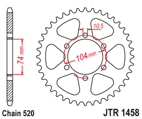 JTR1458