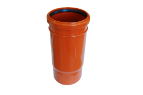 Патрубок компенсационный канализационный D110 оранж. - Контур