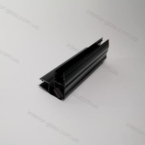 Магнитный уплотнитель 90 град. HDL-210 BLK черный