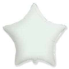 Шар звезда белая