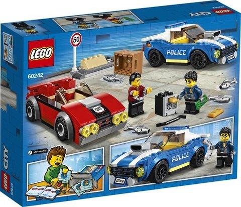 Lego konstruktor City Police Highway Arrest