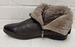 ботинки классические мужские зима