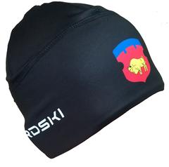 Шапочка для снежного снайпера черная с логотипом БРЕСТСКАЯ ОБЛАСТЬ Nordski Warm black