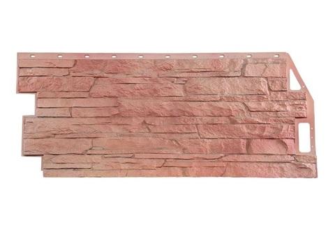 Фасадная панель Сланец - Терракотовый