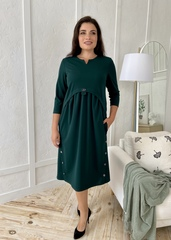 Фріда.  Красива сукня для дівчат і жінок. Смарагд