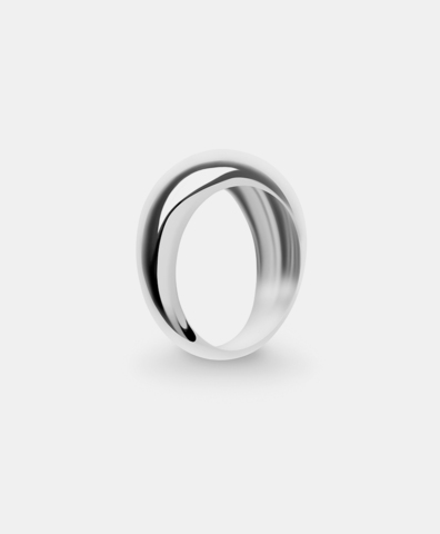 Кольцо Hollywood small silver
