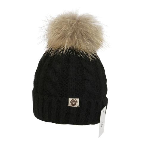 UGG HAT BLACK