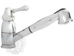 Смеситель для кухни с выдвижной лейкой Migliore Maya BN.CUC-8995