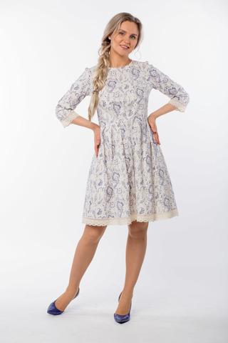 Платье льняное Первоцвет