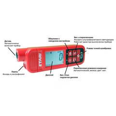 Описание элементов управления толщиномера Etari ET-555