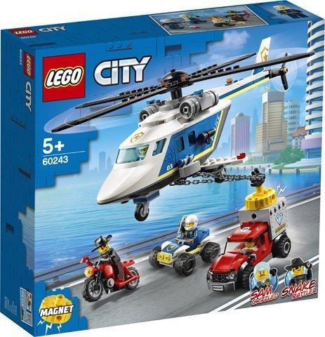 Lego konstruktor City Police Helicopter Chase