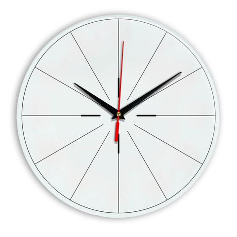 Настенные часы Ideal 954 белые