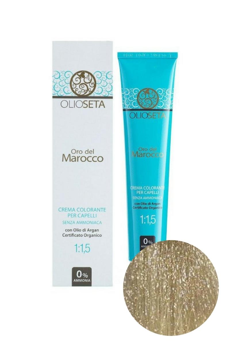 Крем-краска для волос 10.1 Экстра светлый блондин пепельный Oro del Marocco, Barex