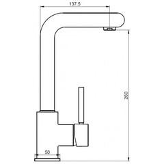 Смеситель KAISER Vico 30033 для кухни схема