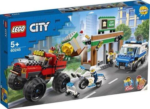 Lego konstruktor City Police Monster Truck Heist
