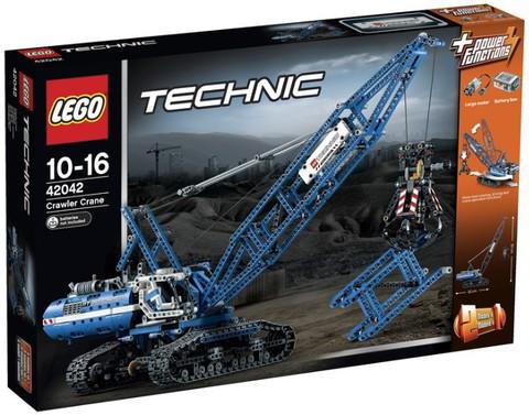 LEGO Technic: Гусеничный кран 42042 — Crawler Crane — Лего Техник