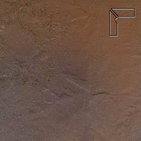 Ceramika Paradyz - Semir Beige, 300x81x11, артикул 5216 - Цоколь левый структурный 2-х элементный