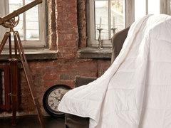 Одеяло стеганное всесезонное 200x220 «Cotton Wash Grass»