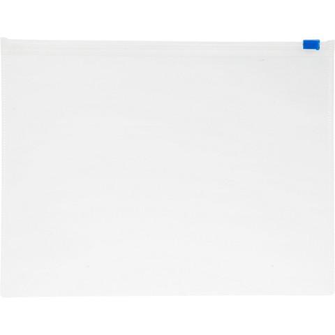 Папка-конверт Attache Economy на молнии А5 прозрачная 0.12 мм