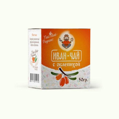 Иван-чай , облепиха, 50 гр