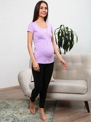 Мамаландия. Футболка для беременных и кормящих на запах, сиреневый