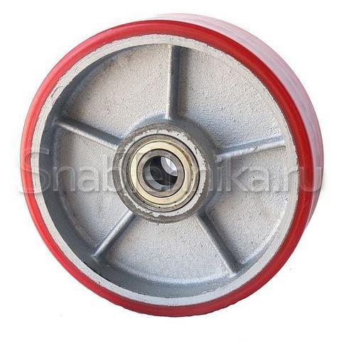PU 160х50мм колесо с подшипником для гидравлических тележек