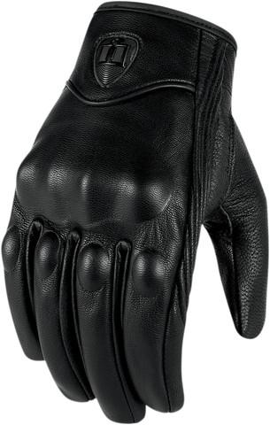 Мотоперчатки - ICON PURSUIT TOUSHSCREEN (женские, черные)