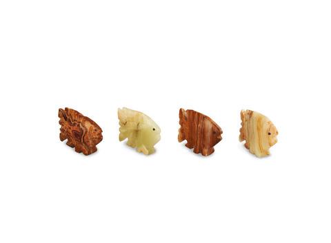 Рыбка из оникса малая (5,5х4х1,5 см). Интернет магазин чая