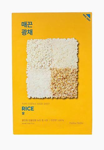 Маска для лица тканевая против пигментации рис Holika Holika Pure Essence