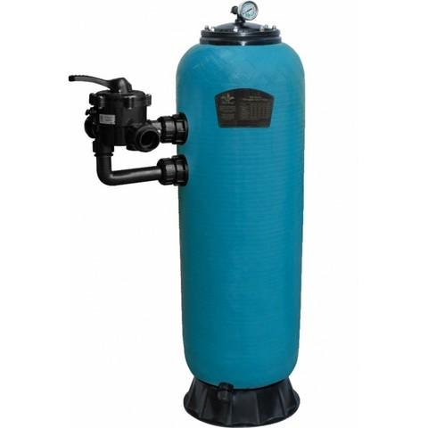 Фильтр шпульной навивки PoolKing HPS13450 5.6 м3/ч диаметр 450 мм с боковым подключением 1 1/2