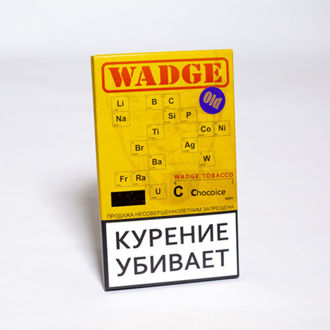 Табак WADGE OLD 100gr CHOCO ICE