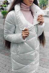 Куртка длинный пуховик Nadya