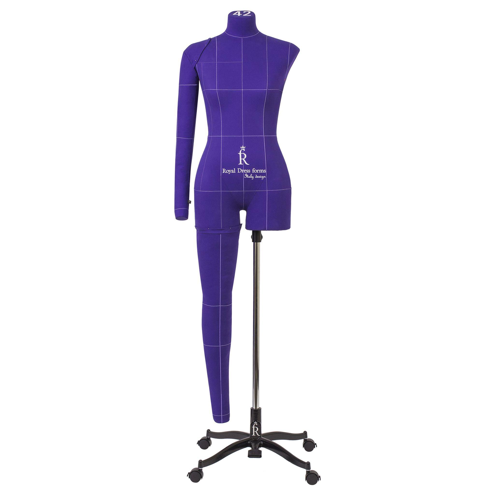 Манекен портновский Моника Арт, фиолетовый, 40 размер