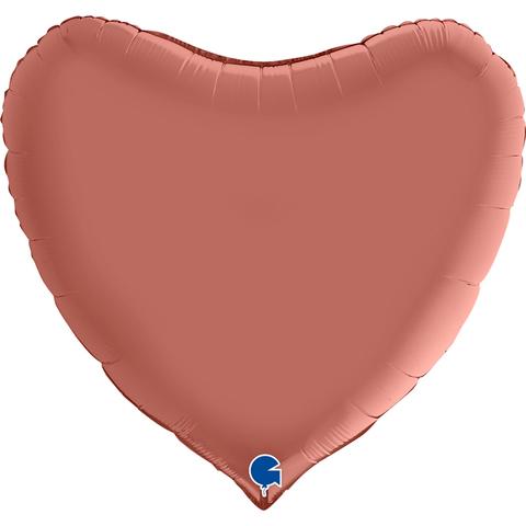 Шар - сердце большое с надписью на армянском языке