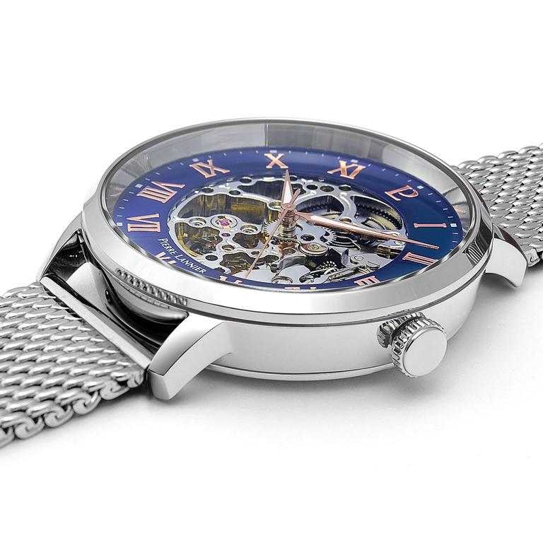 Мужские часы Pierre Lannier Automatic + ремешок 461C168