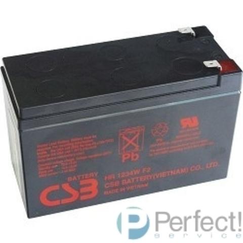 CSB Батарея UPS123607 (12V 7.5Ah) (средний срок службы составляет до 5 лет)