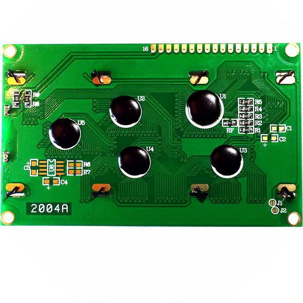 Дисплей LCD2004 (зеленая подсветка)