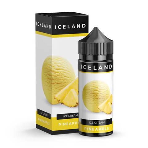 Жидкость Iceland 120 мл Pineapple