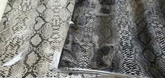 Кожа искусственная декоративная с дизайном, 20*30 см., 1 лист.