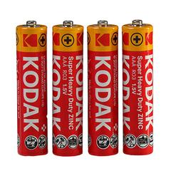 Батарейки Kodak R03, AAA (4/60/900)