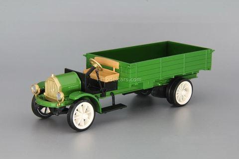 White-AMO TAD 1919 green 1:43 DeAgostini Auto Legends USSR Special issue #2