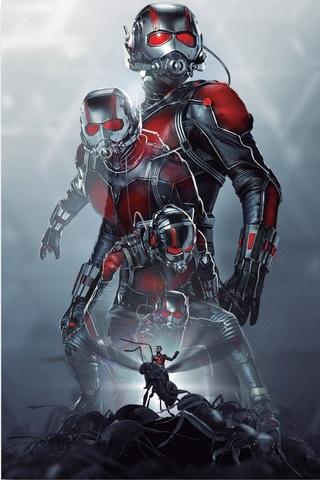 Постер Арт Человек муравей