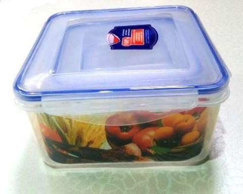 Контейнер пищевой герметичный 804/ набор 3шт,квадратный