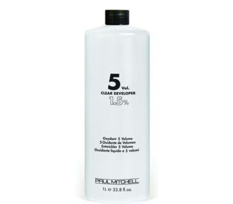 Paul Mitchell COLOR Clear Developer  5vol  Жидкий окислитель-проявитель  1,5% 1л