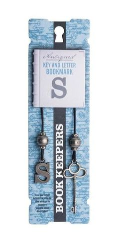 Bookmark  Book Keepers Letter - S
